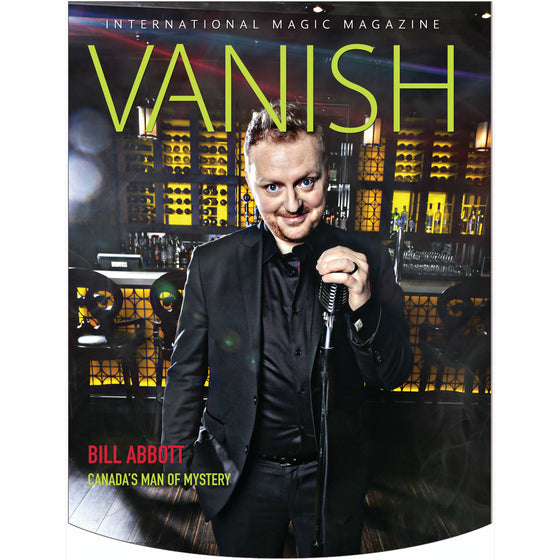 Vanish Magazine Cover - Bill Abbott