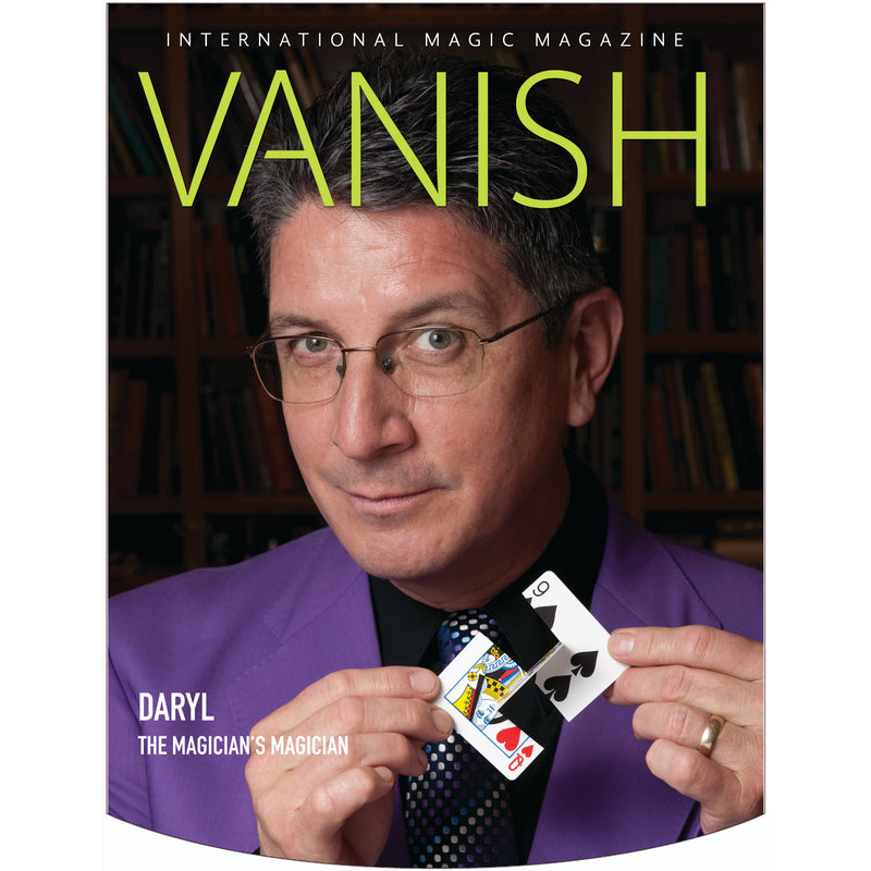 Vanish Magazine Cover - Daryl Easton