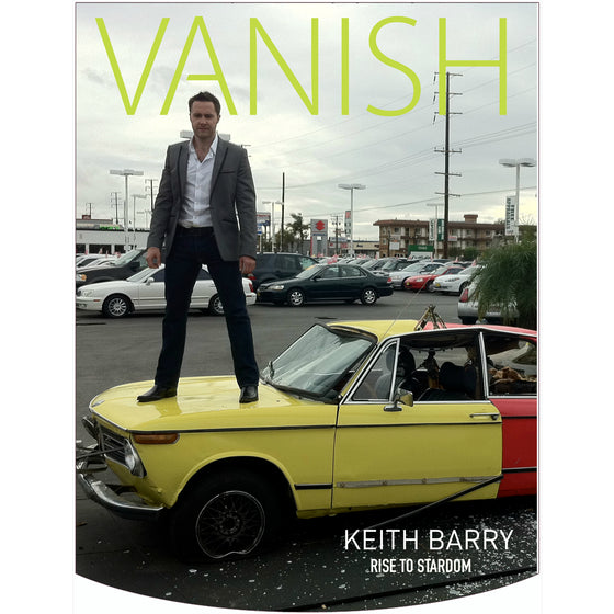 Vanish Magazine Cover - Keith Barry