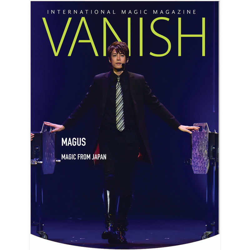 Vanish Magazine Cover - Magus