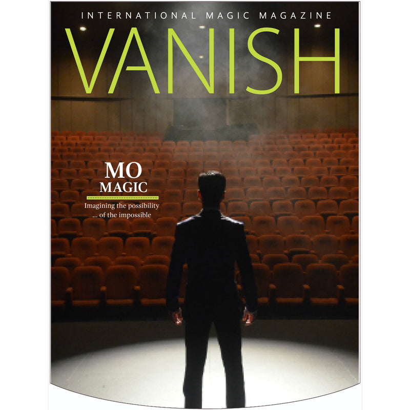 Vanish Magazine Cover - Mo Magic