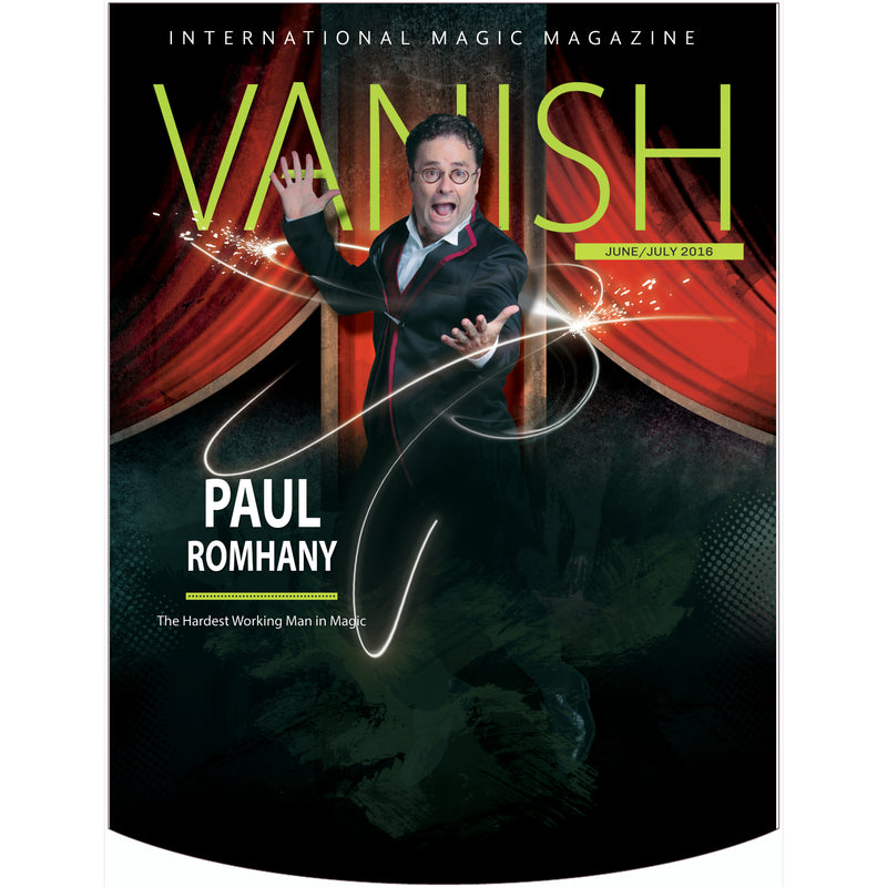 Vanish Magazine Cover - Paul Romhany