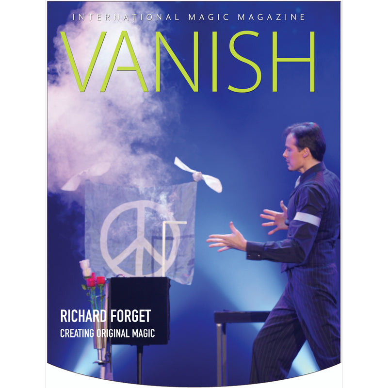 Vanish Magazine Cover - Richard Forget