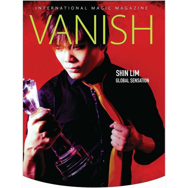 Vanish Magazine Cover - Shin Lim