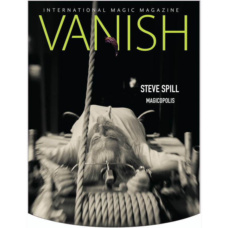 Vanish Magazine Cover - Steve Spill