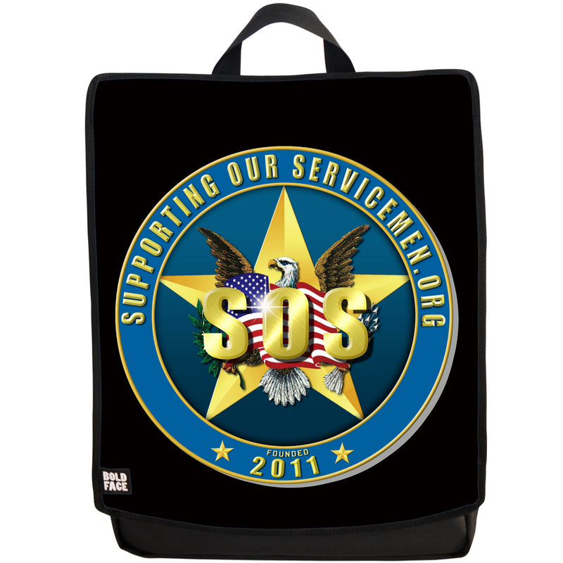Supporting Our Servicemen Backpack (Black)