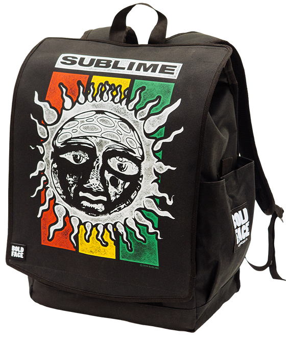 Sublime Rasta Sun Logo Backpack