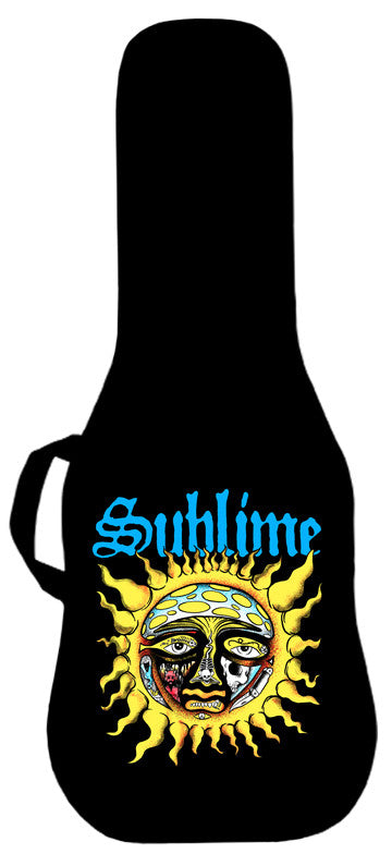 Sublime Sun Logo Guitar Bag Face Panel