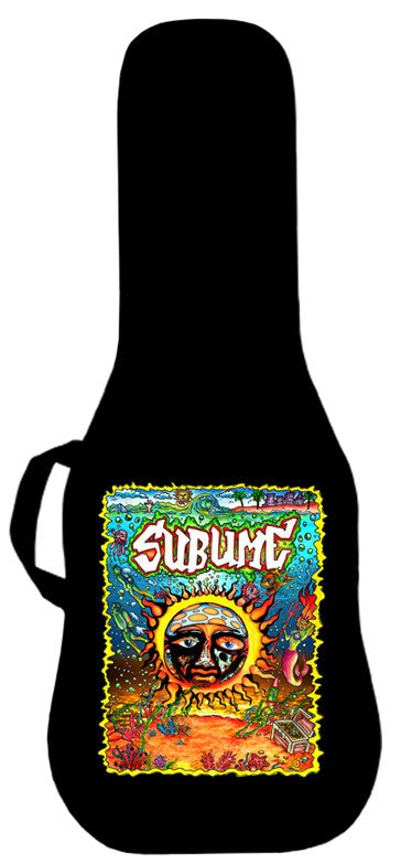 Sublime Underwater Sun Logo Guitar Bag Face Panel