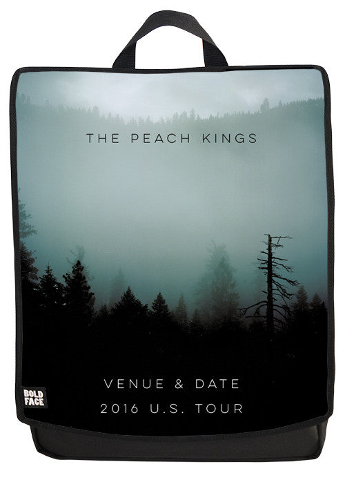 The Peach Kings Backpack - Green Forest