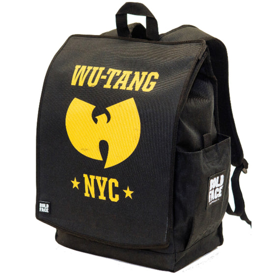 Wu-Tang Clan Official Yellow NYC Logo Backpack