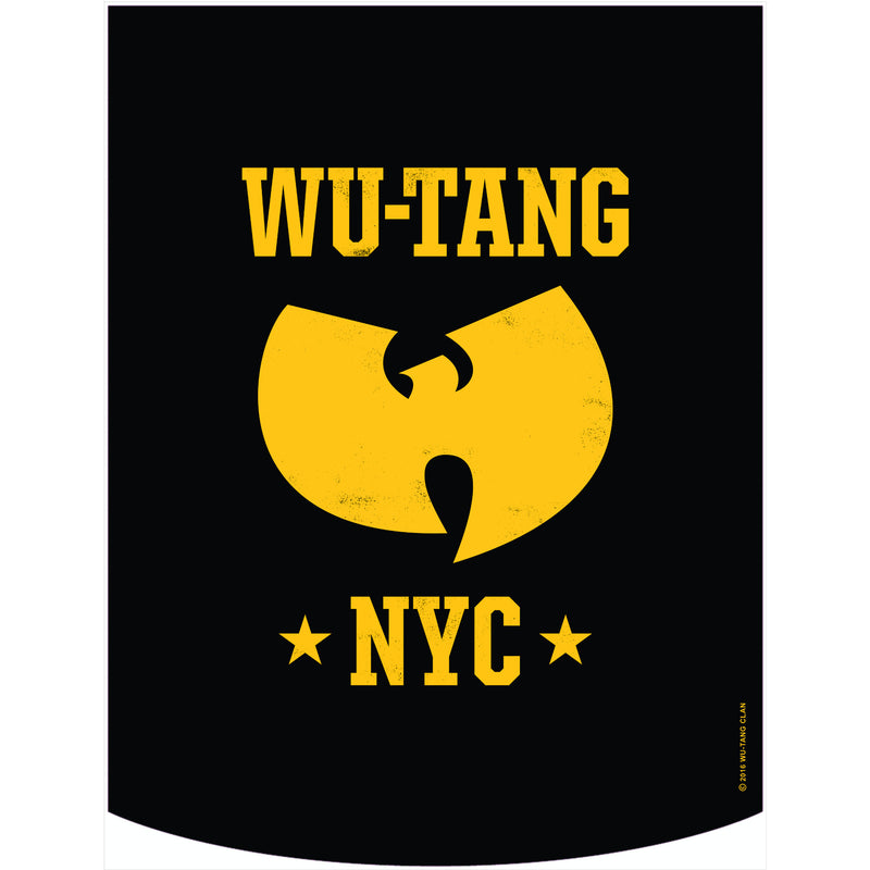 Wu-Tang Clan Official Yellow NYC Logo Backpack Face Panel Only