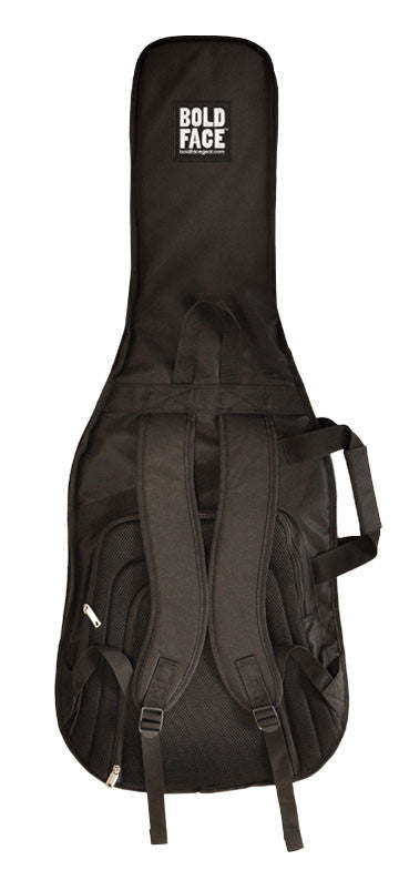 Black Cheetah Design Guitar Bag