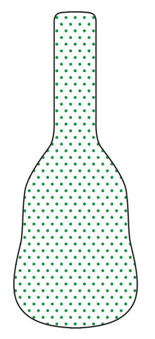 Polka - Green Guitar Gig Bag