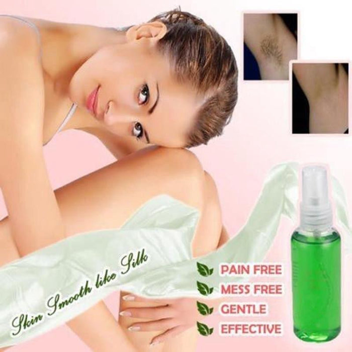 100% Natural Permanent Hair Removal Spray