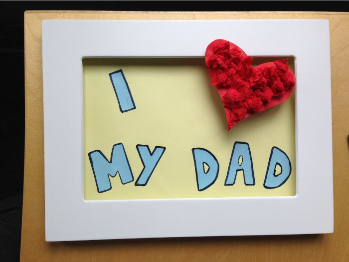 Art Ideas Blog Nine: 3D Father's Day Gift Idea