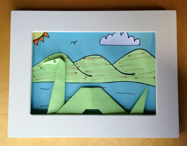 Art Ideas Blog Five: Origami Loch Ness Monster