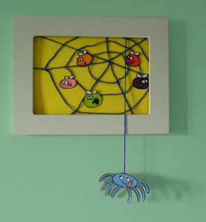 Top Ten Craft Ideas For Kids - 2012, 3D spider's web