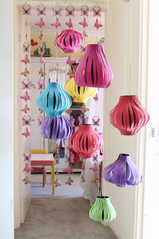 Top 5 Chinese New Year Craft Ideas, Chinese paper lanterns