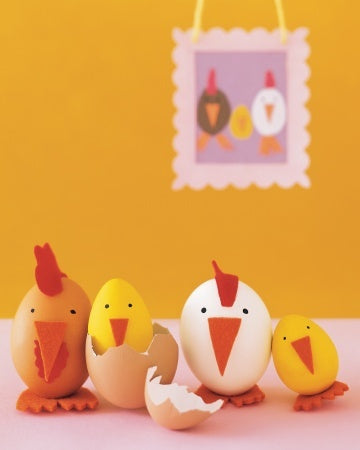 Blog, top five easter ideas for kids, egg chickens