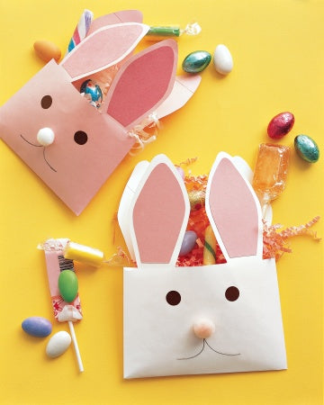 Blog, five top easter ideas for kids, envelope bunnies