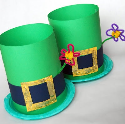 Blog, top five St.Patrick's day craft ideas for kids, leprechaun hats