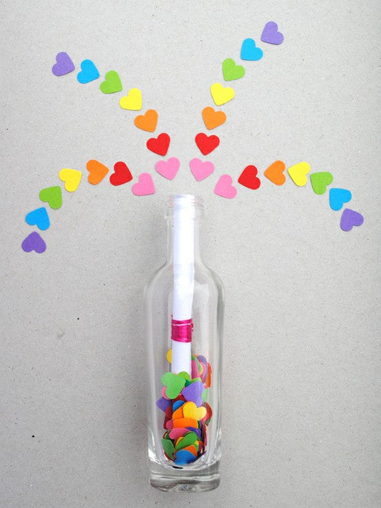 Top Ten Craft Ideas For Kids - 2012, message in a bottle-valentines day craft
