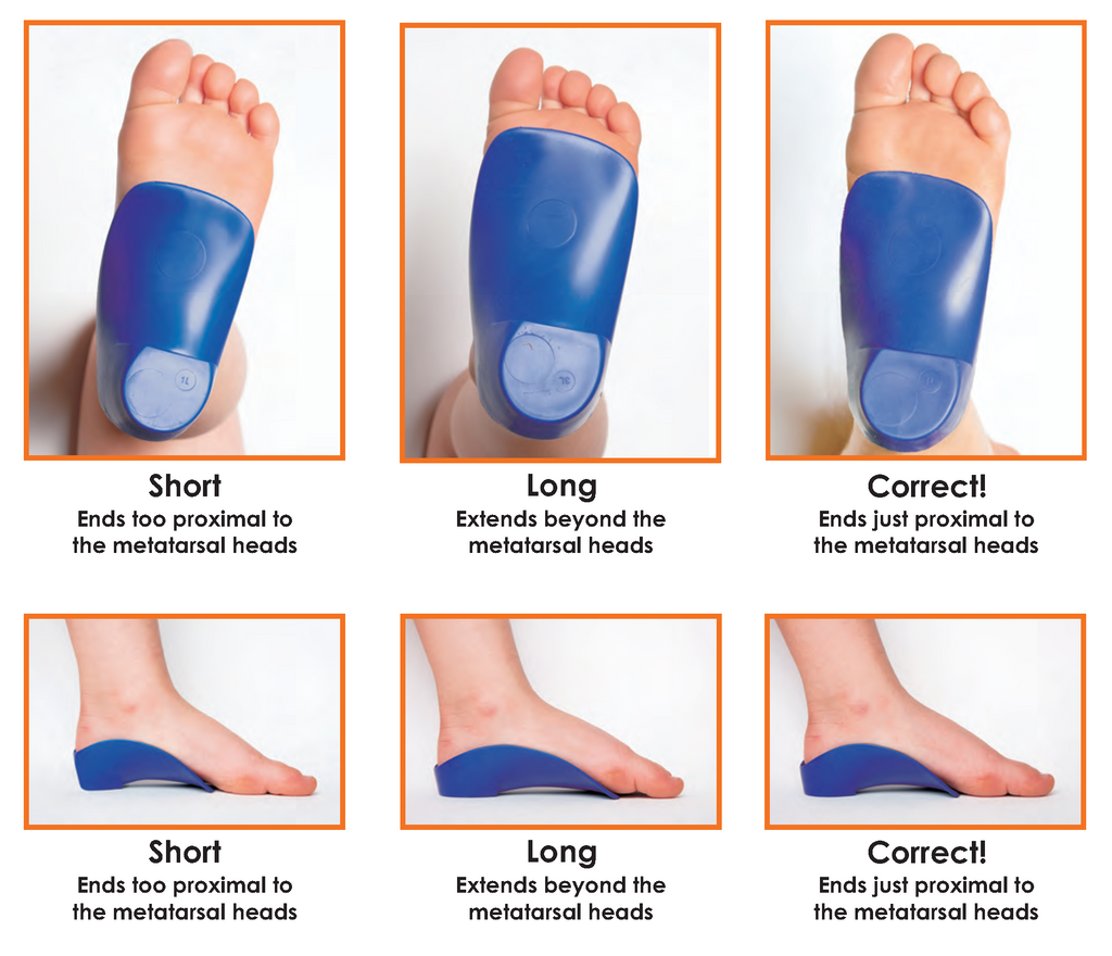 Proper Fititng for  littleSTEPS Orthotics