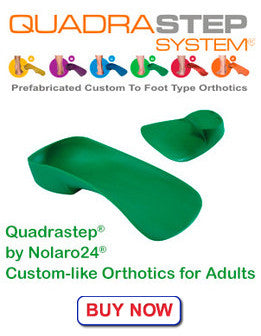 QuadraSTEPS orthotics for adults