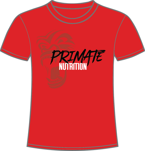 Red Primate Nutrition T-Shirt