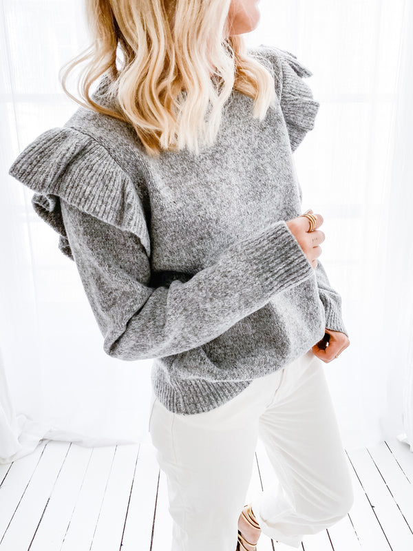 PULL SWEETY GRIS