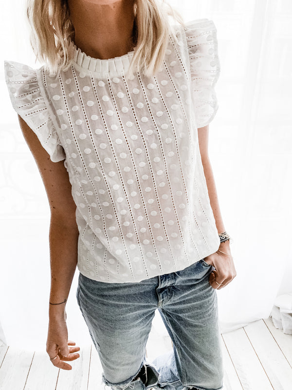 BLOUSE NORA BLANCHE