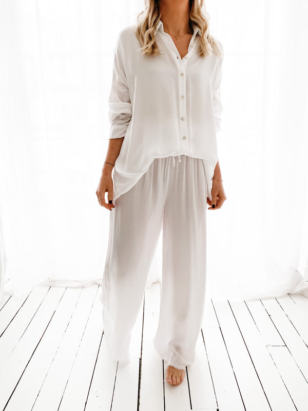 CHEMISE GLOW BLANCHE