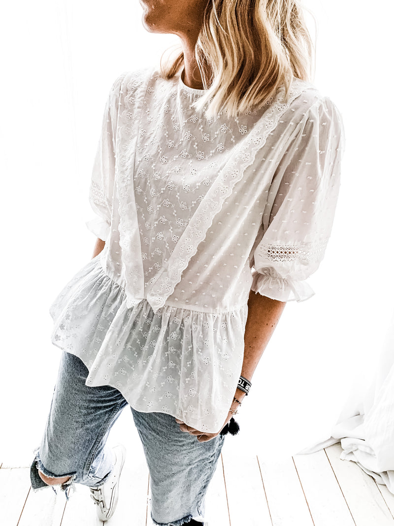 BLOUSE INDIA BLANCHE