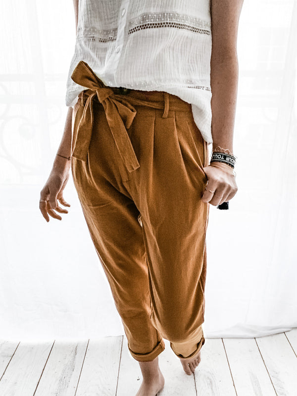 PANTALON BARTH CAMEL