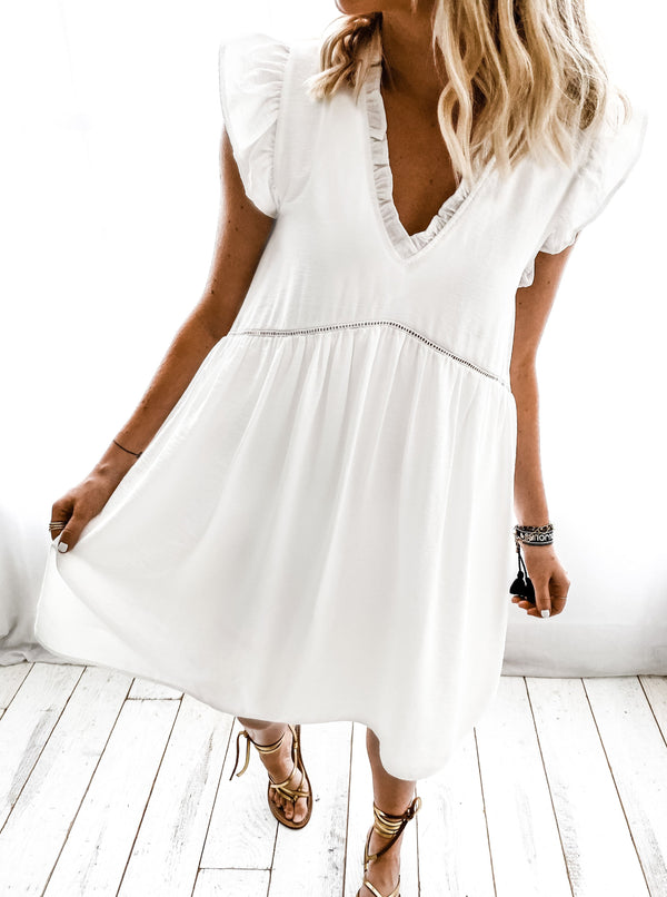 ♡ MASHA WHITE DRESS ♡