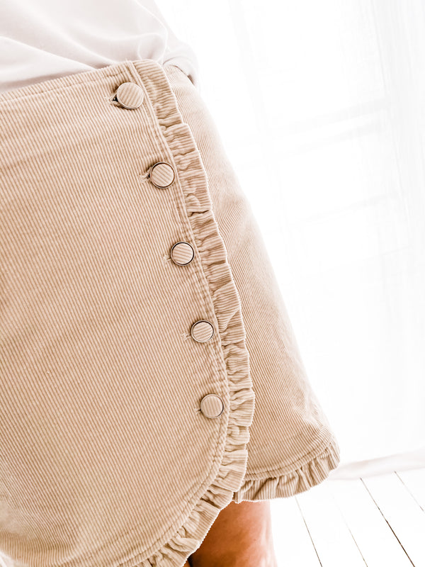 JUPE LOAN BEIGE