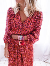 ♡ ROBE BEA ROUGE ♡