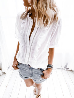 BLOUSE FORTA BLANCHE