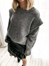 PULL LAURE GRIS