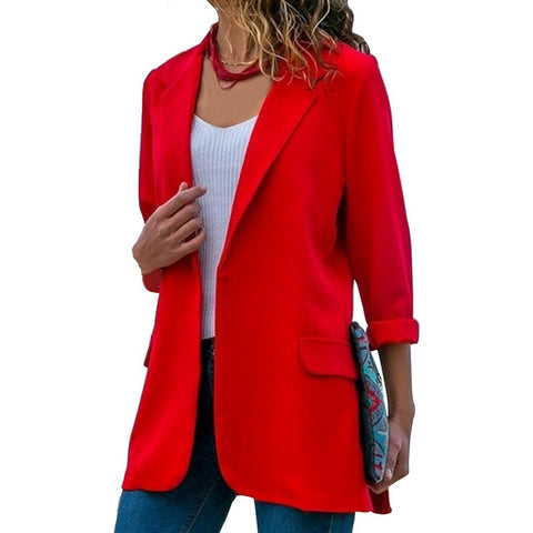 OEAK Autumn Slim Fit Women Jackets