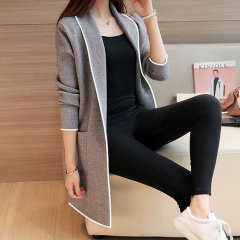 Plus Size Women Long Coats Long Sleeve