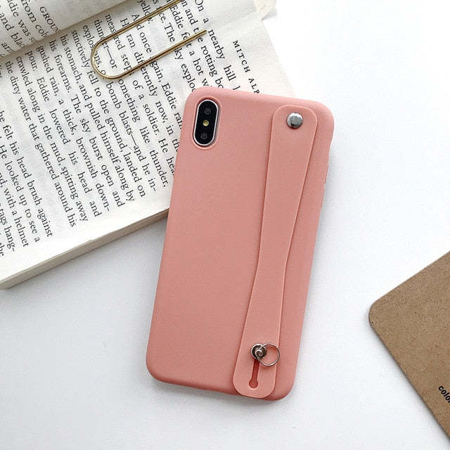Soft Silicone Phone Holder Case