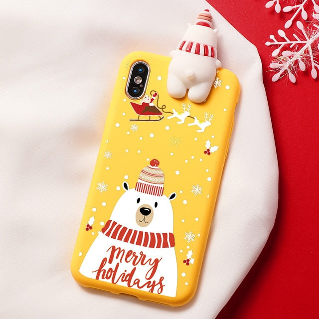 New Year Luxury 3D Xmas Cases