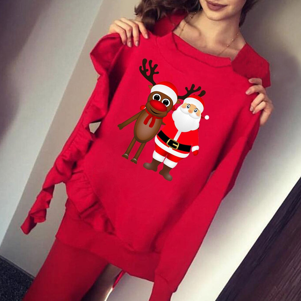New Christmas Women Sweatshirt