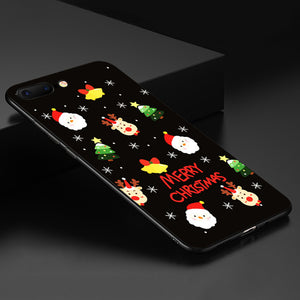 Lovely Santa Claus Christmas  Silicone  Case