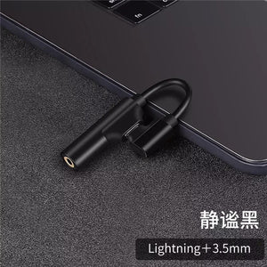 Audio Adapter for apple 3.5mm Charging