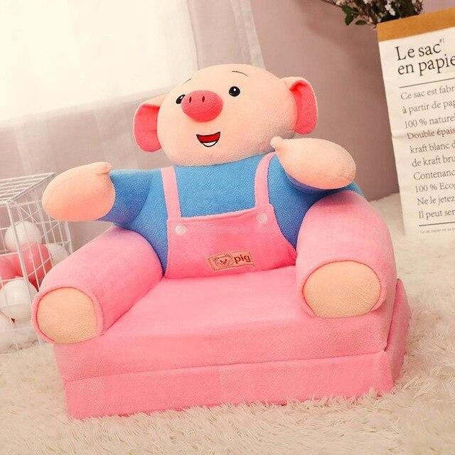 Environmental Safety Single Seat Sofa Corner Design House Furniture Pink Couch Living Single Sofa Bed Child Cotton