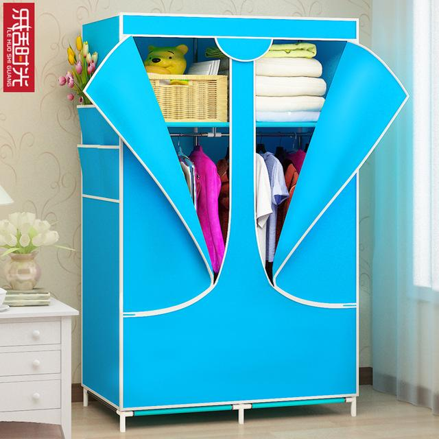 simple modern storage cabinet DIY Non-woven fold Closet Portable Storage Cabinet Multifunction Dustproof Moistureproof Furniture