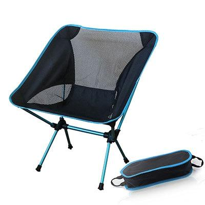 Portable Seat Lightweight Fishing Chair Gray Camping Stool Folding Outdoor Furniture Garden New Al Portable Ultra Light Chairs